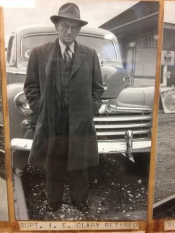 Cascade Division Superintendent Ira E. Clary.  A serious man.