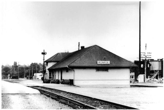 Monroe Depot 7-31-55